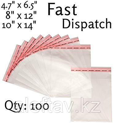 Пластиковые пакеты с застёжками zip, 100 микрон