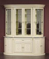 """4-х дверная витрина """"Милан-2-01"""" из массива древесины, фото 1"""