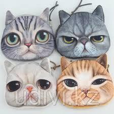 """Кошелек 3D """"Кошки"""""""