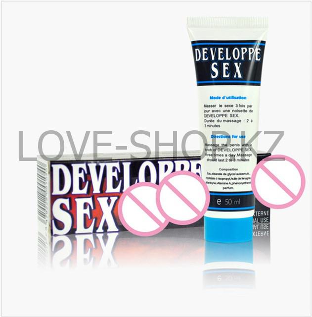 Developpe Sex - гель-смазка для увеличения пениса и продлевания полового акта.