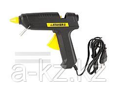 Клеевой пистолет STAYER 2-06801-60-11_z01, термоклеящий, электрический, 60 Вт / 220 В, 11 мм