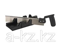 Стусло набор STAYER 1539-30, MASTER, пластмассовое, пила для стусла, ножовка 300 мм, заточенный зуб 11 TPI, стусло MIDI для заготовок до 65 х 35 мм