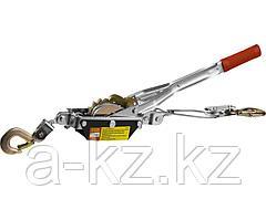 Лебедка ручная STAYER 4310-1, автомобильная, 1 тонна