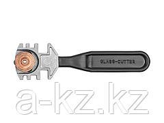 Стеклорез ЗУБР ЭКСПЕРТ роликовый, 3 режущих элемента, с пластмассовой ручкой, 3360_z01