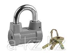 Замок навесной STAYER 37149-60, MASTER облегченный, дисковый механизм секрета, 60 мм