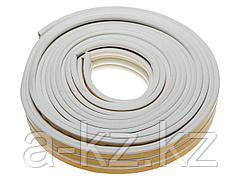 Уплотнитель ЗУБР резиновый самоклеящийся, профиль P, белый, 16м, 40922-016