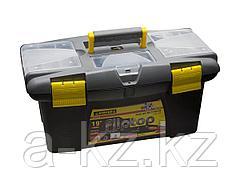 Ящик для инструментов STAYER 2-38015-19, FLIP TOP, пластмассовый, 19 дюймов