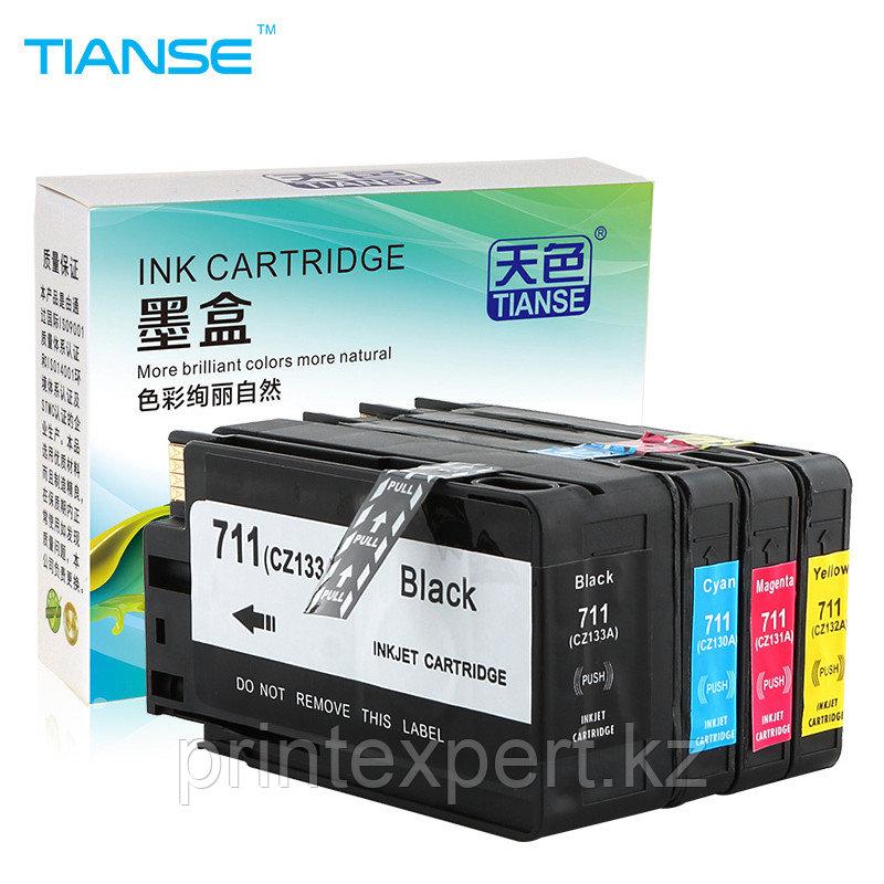 Картридж HP CZ129A Black №711, 38ml, for DJ T120/520 JET TEK