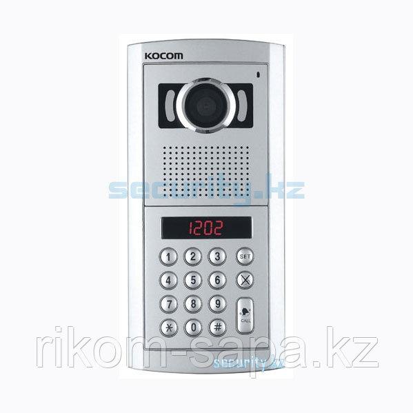 Вызывная панель многоквартирного видеодомофона KOCOM KLP-100