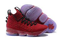 Баскетбольные кроссовки Nike LeBron 15 University Red and Black 44 размер (28 см)