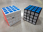 Кубик Рубика 4x4x4 Qiyi Cube в черном пластике, фото 3