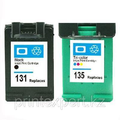 Картридж HP C8766HE Tri-color Inkjet Print Cartridge №135, 7ml,