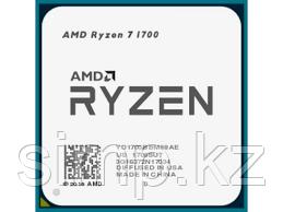 Процессор AMD Ryzen 7 1700 3,0Гц (Summit Ridge 3,7ГГц Turbo) 8 ядер 16 потоков, 4MB L2, 16 MB L3, 65W, AM4