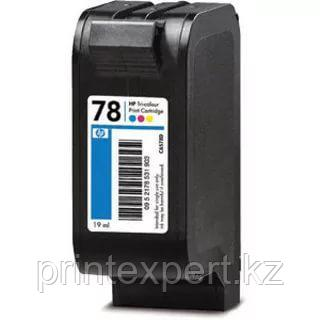 Картридж HP C6578DE Tri-color Inkjet Print Cartridge №78,19ml, , фото 2