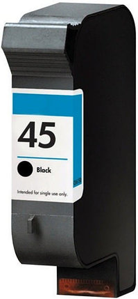 Картридж HP 51645AE Large Black Inkjet Print Cartridge №45, 42ml, for  DJ8xx/11xx/16xx OEM, фото 2