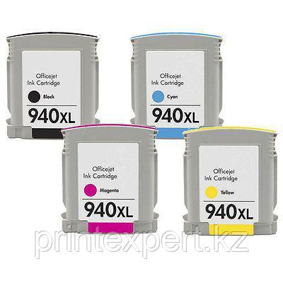 Картридж HP C4909AE Yellow Cartridge №940XL, 20.5ml for DJ Pro 8000/8500 up to 1400 pages JET TEK, фото 2
