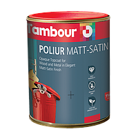 Poliur Matt-Satin Solvent Based 0,75 литра