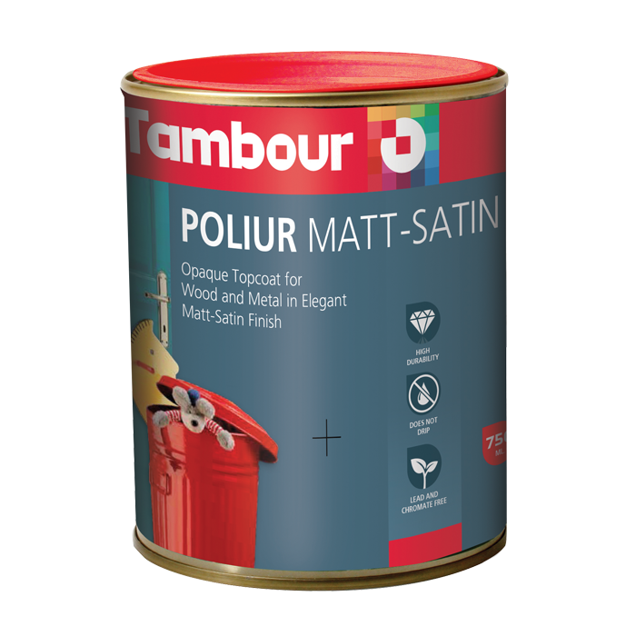 Poliur Matt-Satin Solvent Based 2,5 литра