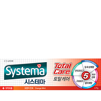 Зубная паста Systema Total TP orange mint апельсин, 120g