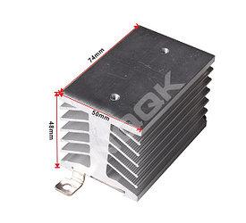 Алюминиевый радиатор с DIN-рейкой