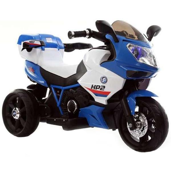Детский электромотоцикл-трицикл HP2, синий