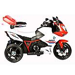 Детский электромотоцикл-трицикл HP2,красный, фото 2