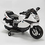 Электромотоцикл спортивный BAW 600, белый, фото 2