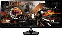 "Монитор 29"" LG 29UM58-P Black, 2560 x 1080, IPS, 5ms, 21:9, 250cd/m2, 178°/178°, 1000:1, Mega, HDMIx2"