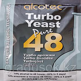 Спиртовые турбо дрожжи AlcotecTurbo Yeast Pure 48