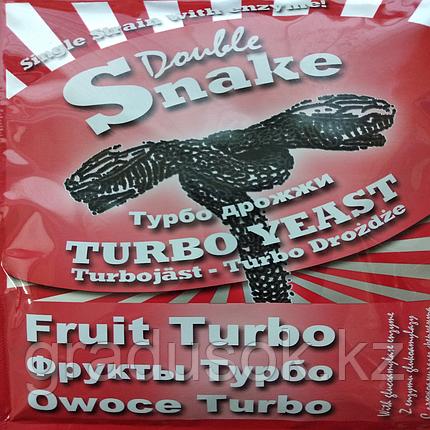 Спиртовые турбо дрожжи DoubleSnake Turbo Yeast Фрукты, фото 2