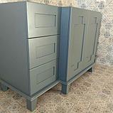 Шкаф для ванной комнаты МДФ крашенный, фото 2