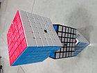 Кубик Рубика 6 на 6 Moyu в черном пластике, фото 4