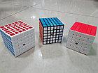 Кубик Рубика 6 на 6 Moyu в черном пластике, фото 5