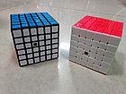 Кубик Рубика 6 на 6 Moyu в белом пластике, фото 3