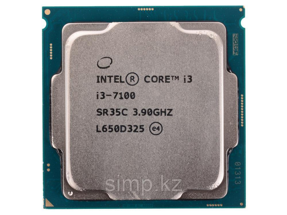 Intel 1151 Core i3-7100 Core/Threads 2/4, Cache 3M, Frequency 3.90/3.90 GHz
