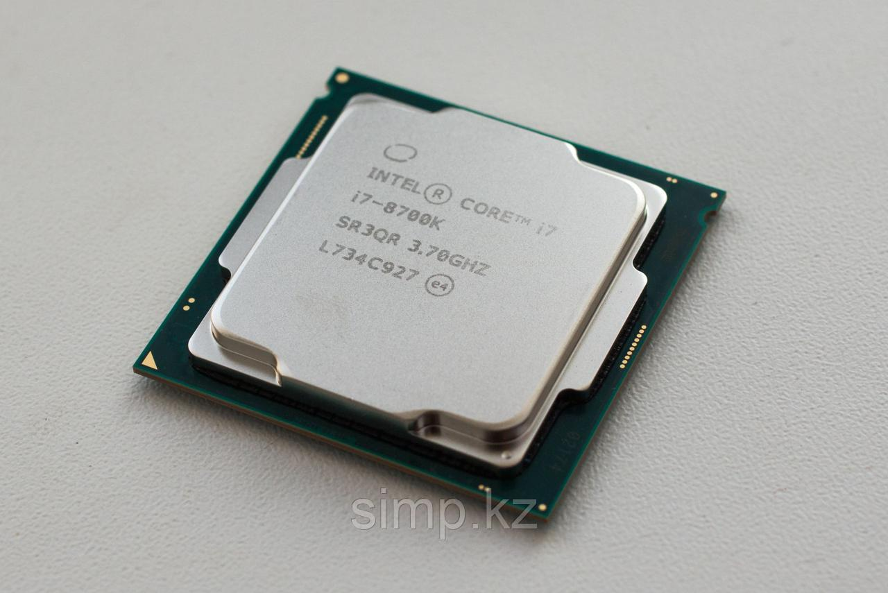Intel 1151 Core i7-8700K Core/Threads 6/12, Cache 12M, Frequency 3.70/4.70 GHz