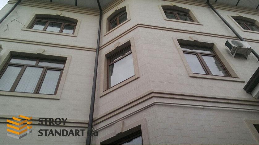 Термопанели для фасада под травертин, фото 2