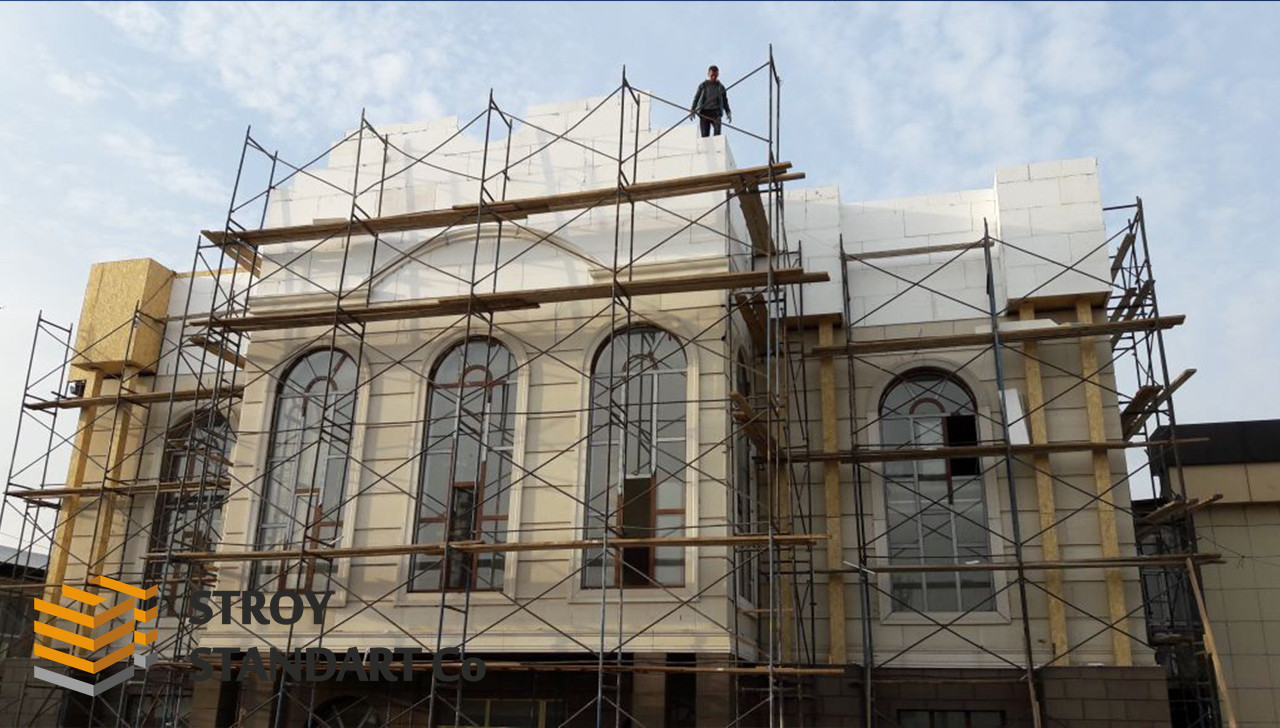 Фасадные термопанели 50 мм для утепления