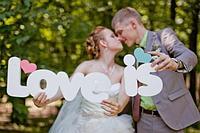 Дата свадьбы из фанеры 3 мм