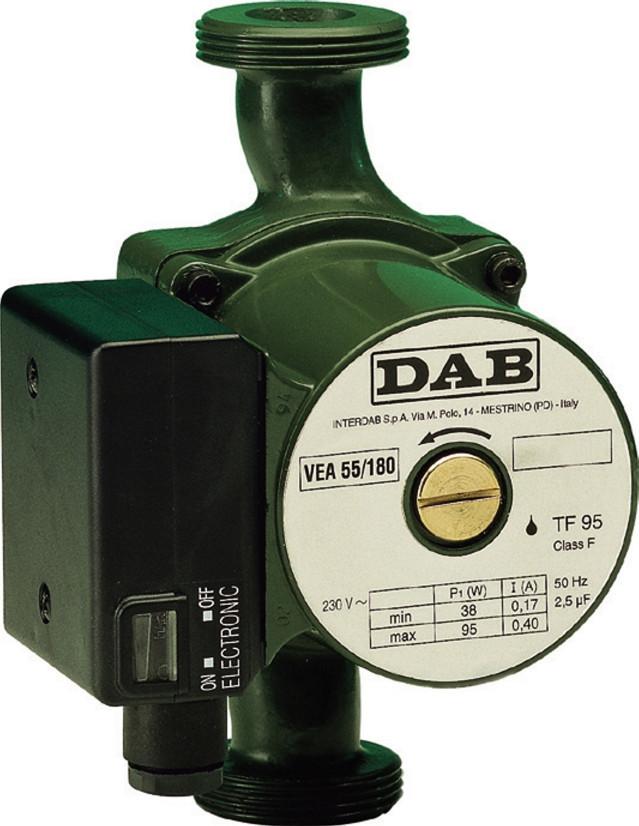 Насос циркуляционный с мокрым ротором DAB типа VA 65/180 M