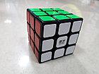 Кубик Рубика 3 на 3 Qiyi Cube в черном пластике, фото 4