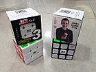 Кубик Рубика 3 на 3 Qiyi Cube в черном пластике, фото 7
