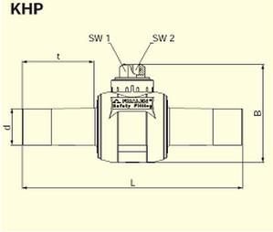Электросварные фитигни AKHP d160/63