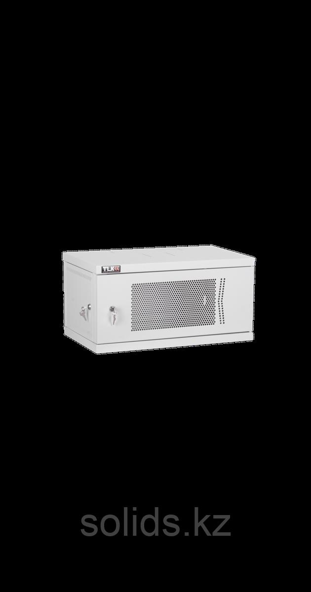 Настенный разборный шкаф 12U перфорация 600х450