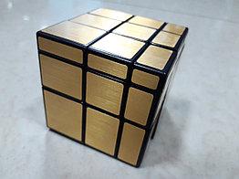 Кубик Рубика Зеркальный Mirror золотой