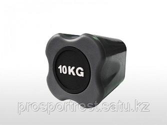 Бодибар FT 10 кг серый наконечник
