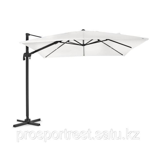 Зонт уличный квадратный Lux с чехлом (3х3м), бежевый