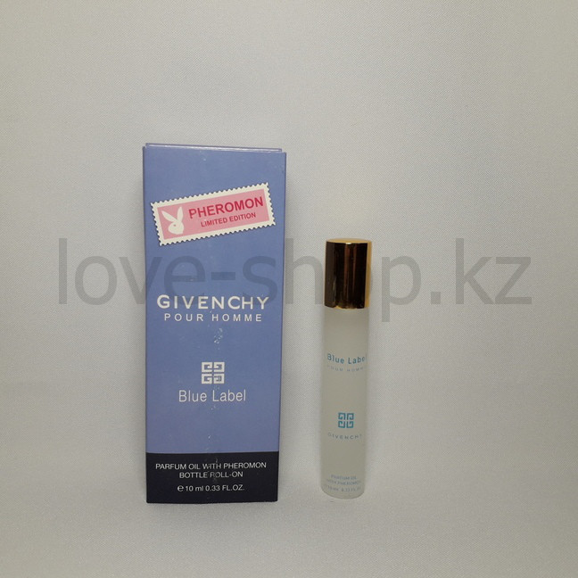 Духи с феромонами Givenchy Blue Label, 10 ml.