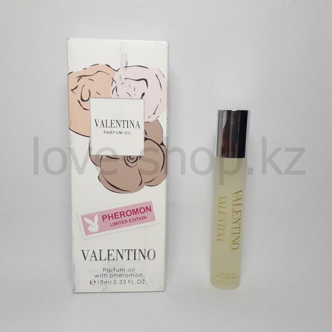 "Духи с феромонами  VALENTINO ""Parfum oil with pheromon"", 10 ml."