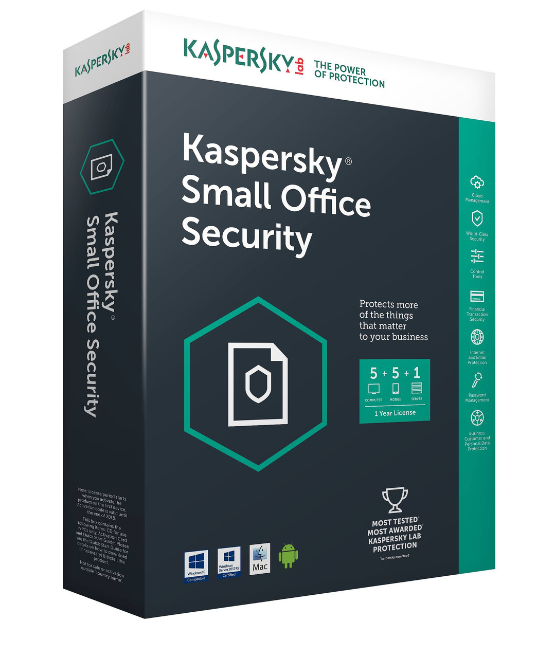 Kaspersky Small Office Security Продление (Renewal) 1 год
